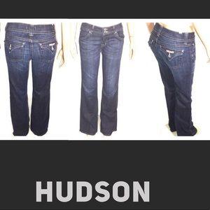 Hudson Boot Cut 31 Flap pockets factory whisking
